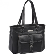 Clark & Mayfield Stafford Pro Leather Laptop Tote 40cm