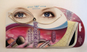 ForresterVos Optimage Magnifying Flip Lens Makeup Glasses & Case Medium Strength