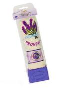 Savon de Marseille Lavender Bath Soap Bar and Tea Towel Gift Set
