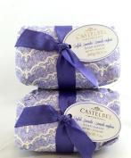 Castelbel English Lavender 300gram Bath Soap Bar - 2 Bars