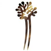 Mary crafts Coral Decoration Buffalo Horn Hair Fork Hairfork Hair Pin Handmade
