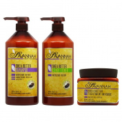 "Savannah Shea Butter Shampoo & Conditioner 1000ml & Masque 500ml ""Set"""