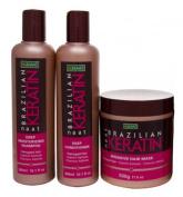 Nunaat Keratin Hair Care 3pc Set