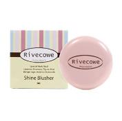 Rivecowe Shine Blusher -No.2 Shine Milky Pink 7g