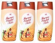 Mysore Sandal Talcum Powder 300g Powder By KSDL, 310mls - 100% Pure Sandalwood Oil - No Harsh Chemicals (Pack of 3 -