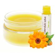 Nature's Herbal Calendula Salve Cream + TUBE Organic Gentle multipurpose skin cream Healing Eczema