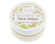 Pure as Petals Rosewater Face Cream, Lotion Organic Rich and Luxurious Rose Hydrosol Aloe Nourishing