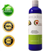 100% Pure Avocado Oil - Deep Tissue Moisturiser for Hair, Face & Skin - Rich in Retinol & Vitamin E to Reduce Wrinkles - Supports Skin Rejuvenation & Hair Growth - 120ml - USA Made By Maple Holistics
