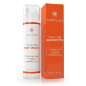 Tinted Moisturiser Cream, SPF 15 - Best for Light, Fair & Sensitive Skin - With Vitamins B, C & E - 100% Natural - Gives Even, Healthy Glow, Tone to Face & Neck Daily - Use Day & Night to Curb Ageing