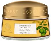 """Forest Essentials Revitalising Kashmiri Walnut Gel Scrub, 50g ---""""Shipping by FedEx"""""""