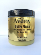 Butter Mania 100% Organic Natural Blend of 7 Oils and Butters- Argan Oil, Cocoa Butter, Shea Butter, Mango Butter, Sweet Almond Oil, Coconut Oil and Castor Oil 210ml