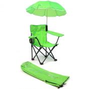 Redmon For Kids Beach Baby Umbrella Camp Chair, Lime Green