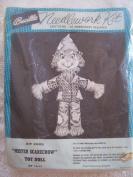 Mister Scarecrow Toy Doll Needlework Kit