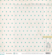 American Crafts Dear Lizzy Documentary Snail Mail Scrapbook Paper