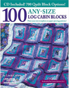 Leisure Arts - 100 Any-Size Log Cabin Blocks 1 pcs sku# 1856954MA