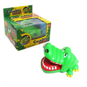 SFamily Tricky Toy Funny Animal Gift Biting Finger Crocodile