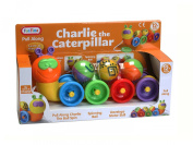 Charlie The Caterpillar - Pull Along Baby Boys Girls Activity Toy Age 12m+