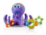 Great Value Nuby Bathtime Fun Octopus Hoopla Purple