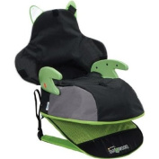 Safety 1st Boost-a-pack Backless Baby Booster Car Seat Includes Removable Cover for Easy Spot Cleaning, Green