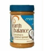 Crunchy Coconut Peanut Butter (Case of 12) by Earth Balance Natural