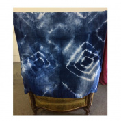 Super Nova Adult Bamboo Blanket - Tie Dye - Indigo