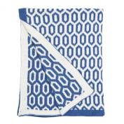 Micha Reversible Chenille Blanket by Petit Nest
