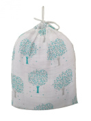 By Willow Beans - 100% Organic Cotton Baby Swaddles- Signature Tree and White - Best Baby Shower Gift