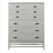 Stanley Furniture Coastal Living Resort Tranquilly Isle Drawer Chest in Morning Fog