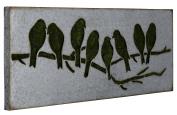 Metal Sparrow Wall Art I Model-41015