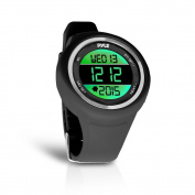 Pyle Go Sport Multi-Function Sports Training Watch (Stopwatch, Pedometer, Countdown Timer, Multi-Alarm, Daily Reminders), Black