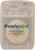 Freshmint 12 Yards Mint Waxed Dental Floss 144 pcs sku# 312973MA