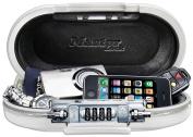 Master Lock 5900DWHT SafeSpace Portable Safe, White
