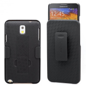 Aduro Shell Holster Combo Case for Samsung Galaxy NOTE 3 with Kick-Stand & Belt Clip