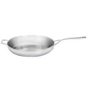 Demeyere 5-Plus Stainless Steel 32cm Fry Pan with Helper Handle