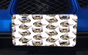 Cat Heads Aluminium Licence Plate for Car Truck Vehicles