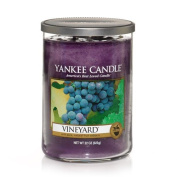 Yankee Candle Vineyard Large 2-Wick Tumbler Candle, Fruit Scent