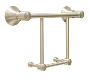 Deltana 88TB12 30cm Towel Bar with Solid Brass Construction from the 88 Series, Chrome