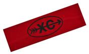 XC Cross Country Running Funny Girl Designs Cotton Stretch Headband -