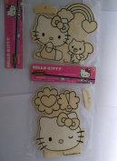 Hello Kitty Wood Craft Kits Two Hello Kitty Stand Ups