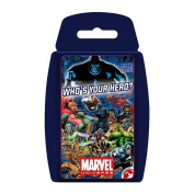 """Top Trumps - Marvel Universe """"Who's your hero."""""""