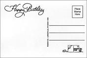 "Post-Pix Peel & Stick Photo Postcards by Romar ""Happy Birthday"""