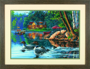 Dimensions Crafts 73-91474 Echo Bay Paint