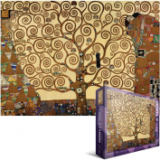 Eurographics Jigsaw Puzzle 1000 Pieces 19.25X26.5 Klimt - Tree of Life