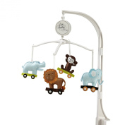 Little Bedding Musical Mobile, Critter Pals