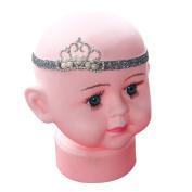 Susenstone®Crown Children's hair band Princess Baby Girl Crystal Pearl Crown Hairband