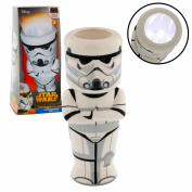 Star Wars Rebels Stormtrooper Hand Held Lamp - Bright LED Light Multi-function Lamp Lantern w/ Timer