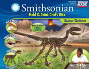 Smithsonian / Raptor Skeleton PerfectCast Mould & Paint Craft Kit