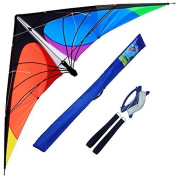 Hengda Kite-Delta stunt kite for Kids and Adults,180cm outdoor sports,Beach and Fun sport kite
