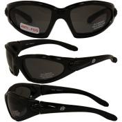 Birdz Eyewear Quail Padded Motorcycle Glasses