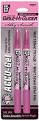 Accu-Gel Bible-Hi-Glider Pink 2/Pk